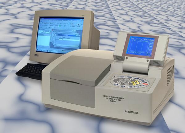 Hình ảnh ví dụ về một loại quang phổ kế