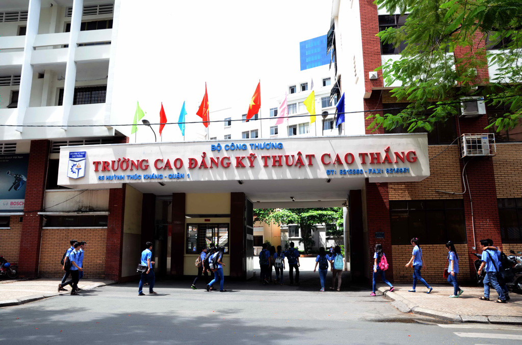 trường Cao đẳng có học phí thấp ở TPHCM